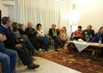 מפגש הכנה עם הקבוצה בתל-אביב