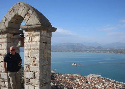 נוף ממבצר פלמידה בפלפונז