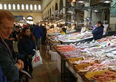 שוק דגים באתונה