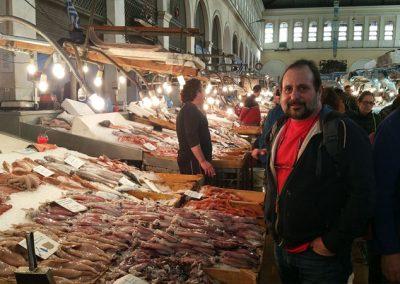 שוק הדגים באתונה