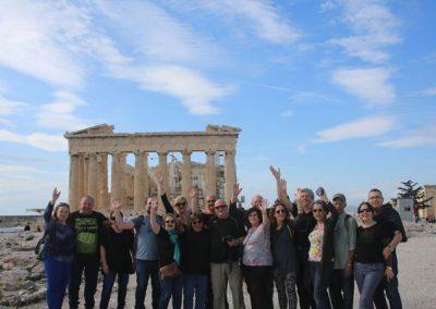 תמונה קבוצתית באקרופוליס פברואר 2016